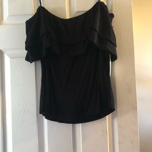 Tops - Black off the shoulder top